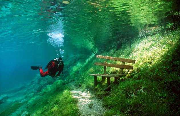 Grüner See, Autriche